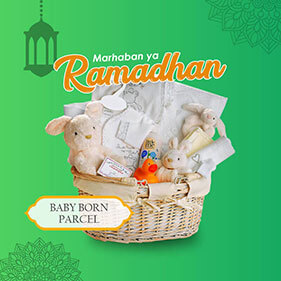 Mini Banner Parcel Baby Born Ramadhan